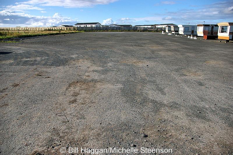 Runway, Ballyhalbert Airfield.