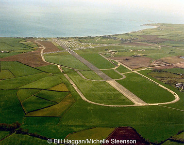 Ballyhalbert Airfield pictured on the 6th May 1994