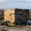 Remains of navigation beacons leading up to runway 03/21 at Ballyhalbert airfield.