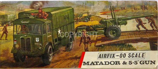 British Matador gun and truck