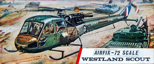 British Army Westland Scout.