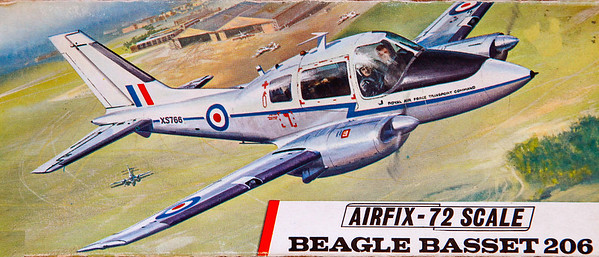 Beagle Bassett communications aircraft.
