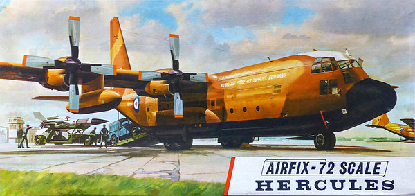 Hercules transport with Bloodhound missile load.