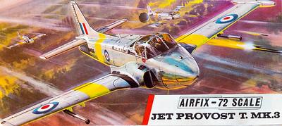 Jet Provost T.MK.3 trainer.