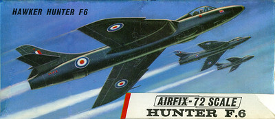 Hawker Hunter of The Black Arrows.