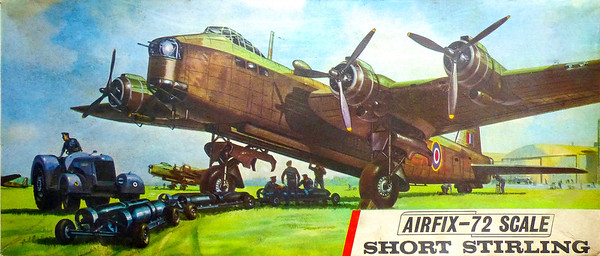 WW11 Short Stirling heavy bomber.