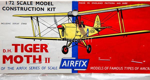 British De Havilland Tiger Moth early bagged kit.
