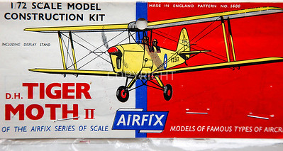British De Havilland Tiger Moth early bagged kit.