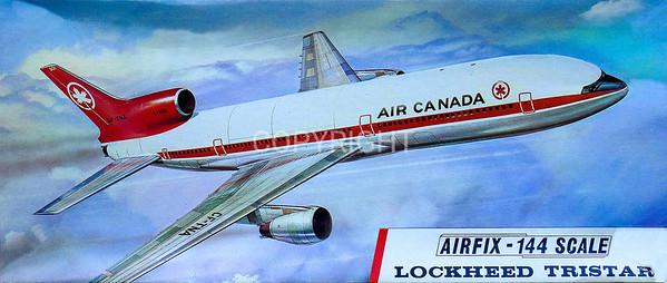 Lockheed Tristar airliner.