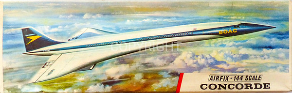 Concorde Anglo-French supersonic airliner.