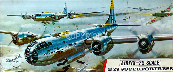 WW11 Boeing B29 Superfortress bomber.