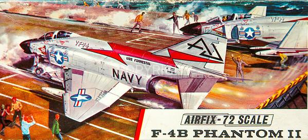 US Navy Phantom carrier interceptor.