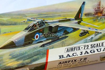 BAC Jaguar light attack bomber.
