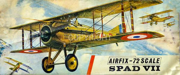 WW1 Spad fighter.