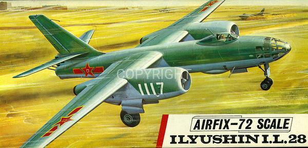 Soviet Ilyushin 28 light bomber.