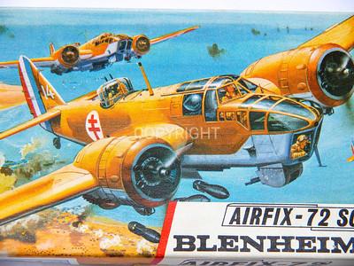 Bristol Blenheim WW11 bomber.