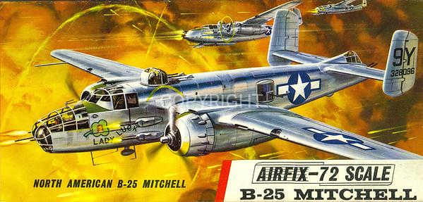 US B-25 Mitchell bomber.