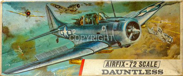 WW11 US Navy Douglas Dauntless carrier fighter bomber.