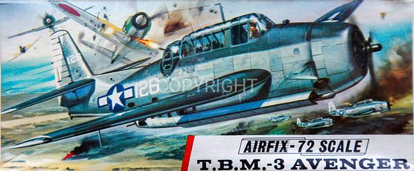 US WW11 Avenger carrier bomber.