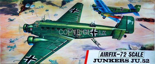 WW11 Luftwaffe Junkers 52 transport