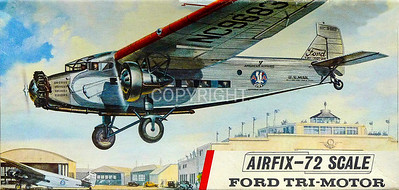 US Ford Trimotor airliner.