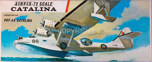 WW11 US Catalina flying boat