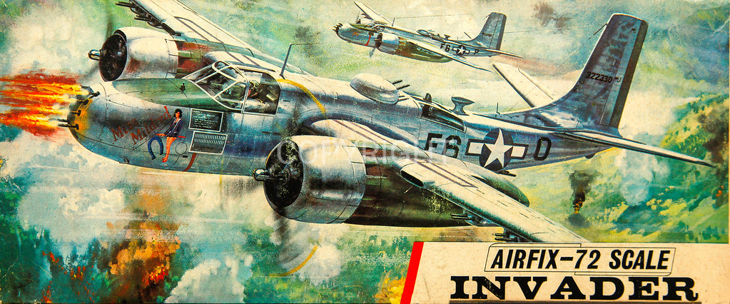 WW11 US Douglas Invader bomber.