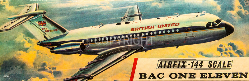 BAC 111 British airliner