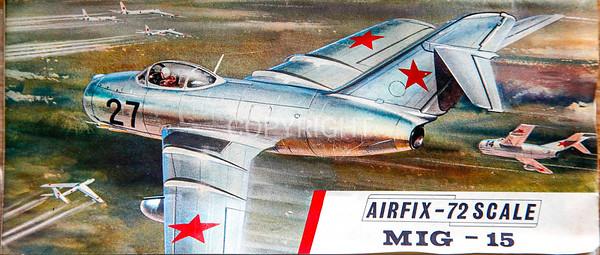 Soviet Mig 15 fighter.