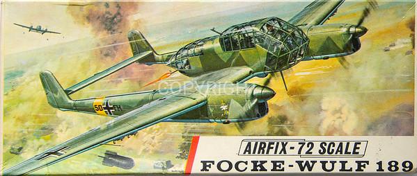 WW11 Focke-Wulf 189 light bomber.