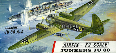 WW11 Junkers 88 bomber.