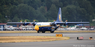 Fat Albert shortly after touchdown.