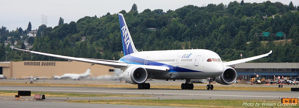 A different 787 on takeoff roll.