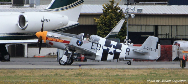 "The P-51 Mustang, ""Impatient Virgin?""."