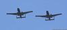 The two A-10s perform their break to land.