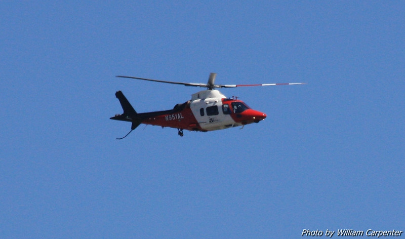 Airlift Northwest's helicopter.