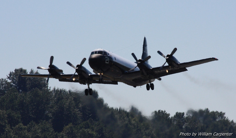 A P-3 Orion from NAS Whidbey Island.