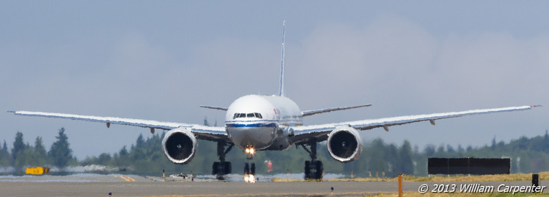 An Air China 777-300ER.
