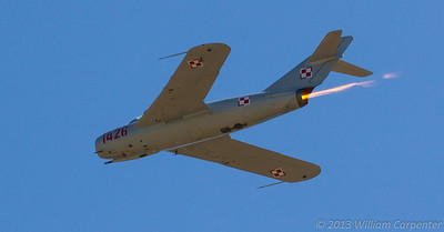 The Classic Aircraft Aviation Museum's Mikoyan-Gurevich MiG-17.