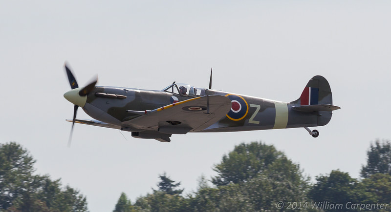 And finally, the FHC's Spitfire.