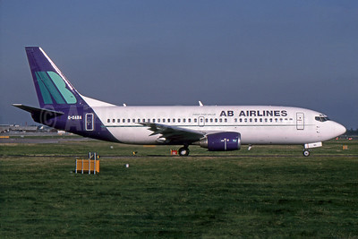 Airline Color Scheme - Introduced 1993 (as Air Bristol)