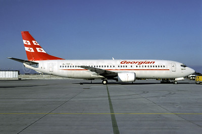 "Airline Color Scheme - Introduced 2005 - Named ""Tbilisi"""