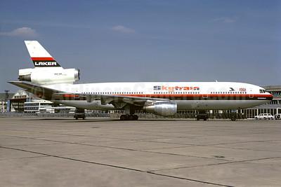 Airline Color Scheme - Introduced 1966 (Skytrain)