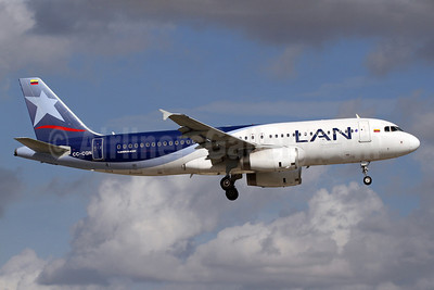 Airline Color Scheme - Introduced 2011 (LAN Airlines 2004)