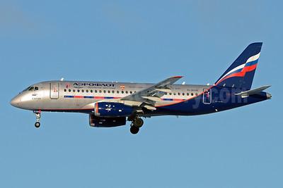 Aeroflot Russian Airlines Sukhoi Superjet 100-95B RA-89010 (msn 95018) SVO (OSDU). Image: 921777.