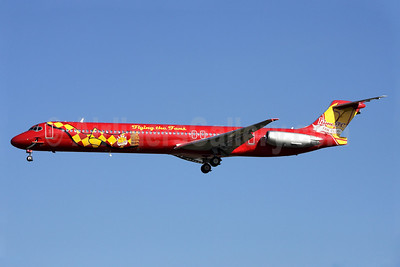 """Flying the Fans - 1time FC Fan Club"" logo jet"
