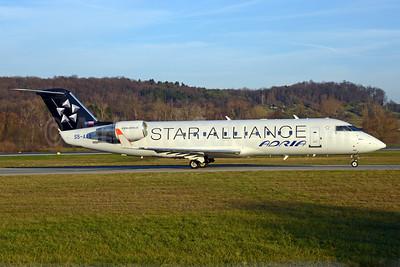Adria Airways operated its last CRJ200 revenue flight on November 30, 2016 (JP569 Prague -  Ljubljana)