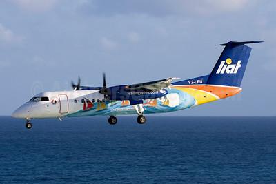 LIAT Bombardier DHC-8-314 V2-LFU (msn 250) (Antigua Sailing Week) SXM (Eric Dunetz). Image: 906497.