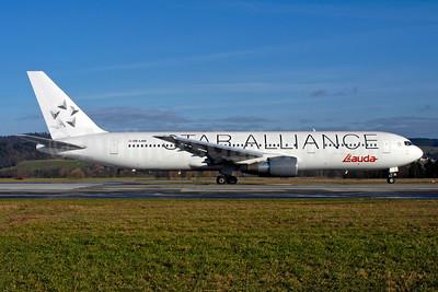 Lauda Air Boeing 767-3Z9 ER OE-LAW (msn 26417) (Star Alliance) ZRH (Rolf Wallner). Image: 955255.