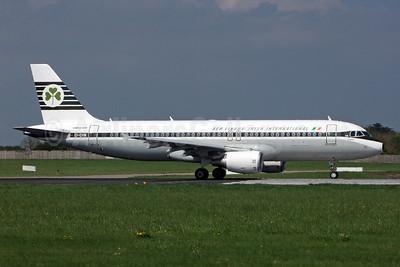 Aer Lingus-Irish International Airbus A320-214 EI-DVM (msn 4634) (1963 retrojet) DUB (Jay Selman). Image: 402233.